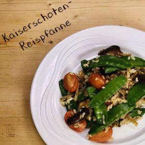 Johann Barsy kocht_Kaiserschoten Reispfanne
