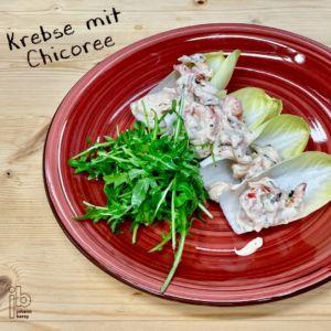 Johann Barsy kocht_Krebse mit Chicorée