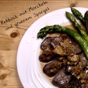 Johann Barsy kocht_Rehbock mit Morcheln