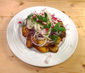Johann Barsy kocht_Bratkartoffelsalat