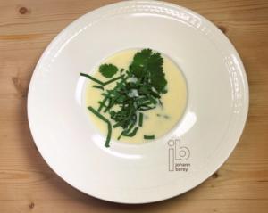 Johann Barsy kocht_Spargelsuppe mit Bärlauch