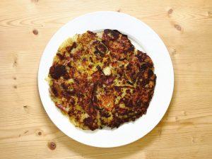 Johann Barsy kocht_Rösti mit Lauch, Speck und Bergkäse